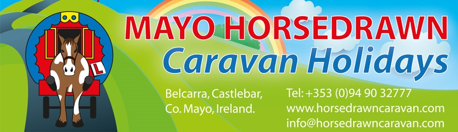 Mayo Horse Drawn Caravan Holidays